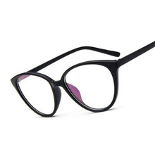 Vintage Cat Eye Glasses Frame Women Fashion Classic Spectacles Frame Female Brand Designer Optical Eyeglasses Oculos de grau