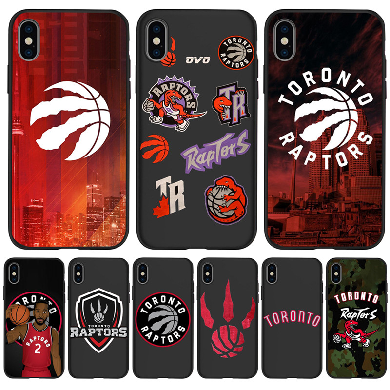 Toronto Raptors For iPhone X XR XS Max 5 5S SE 6 6S font b 7