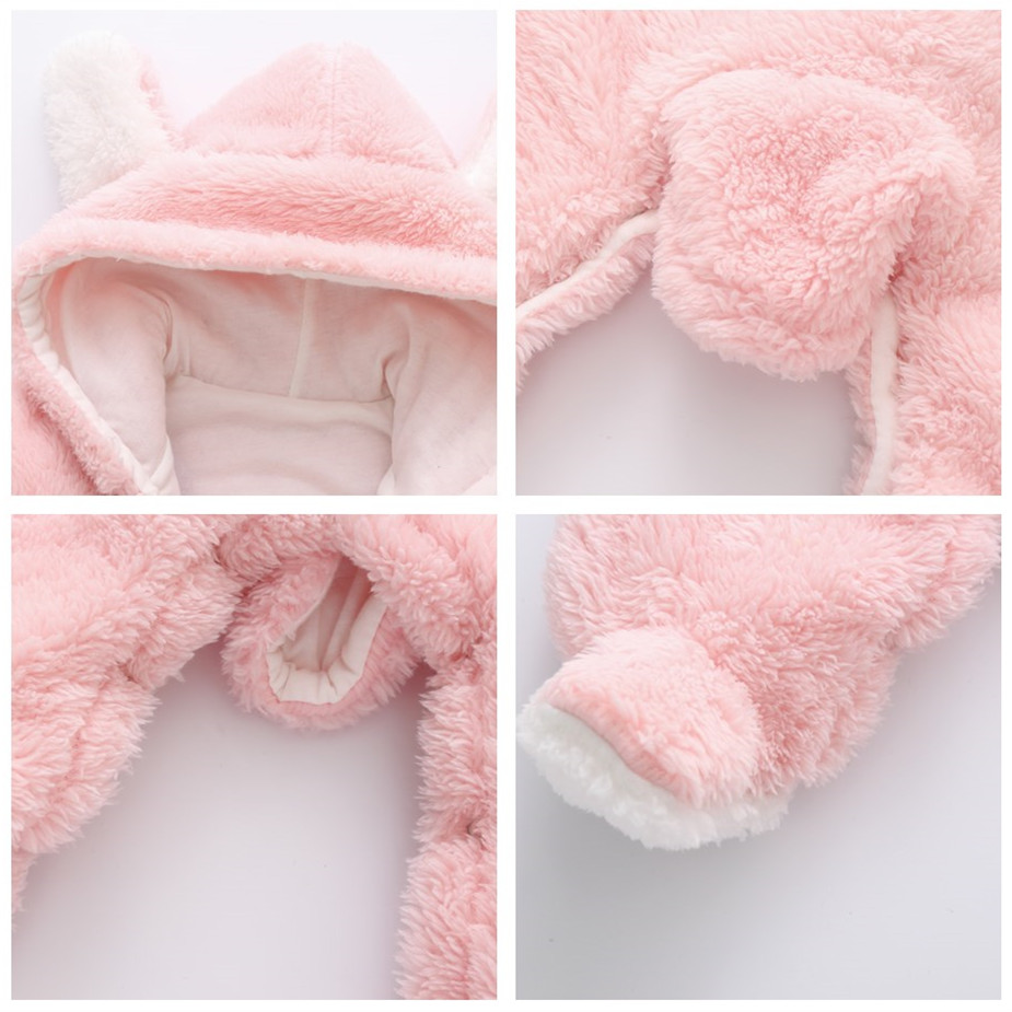 ALI shop ...  ... 33031280770 ... 3 ... Orangemom official Newborn Baby Winter Clothes Infant Baby Girls clothes soft fleece Outwear Rompers new born -12m Boy Jumpsuit ...