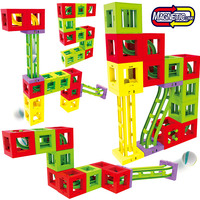 52PCS Magnetic Blocks Magnetic Designer Building Construction Toys Set Magnet Educational Toys For Children Kids Gift