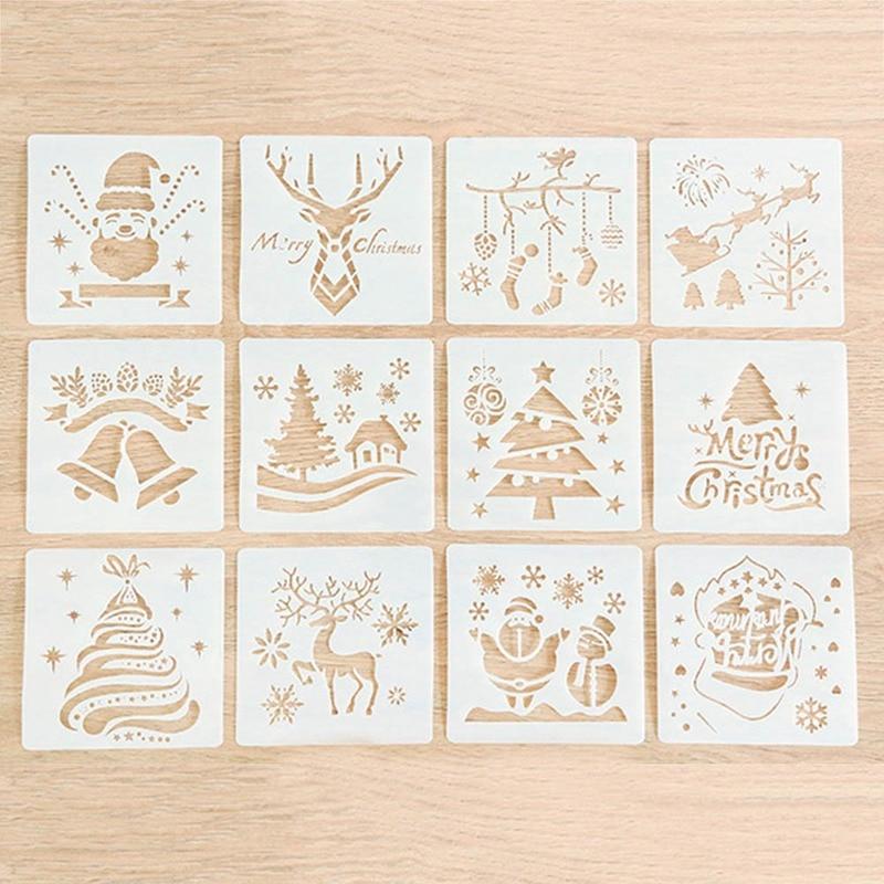 diy craft layering stencils template for walls painting scrapbooking stamping Ke