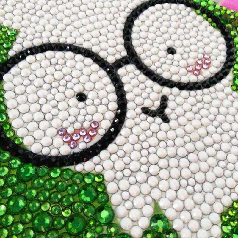 Happyxuan 2019 Новый DIY Алмазы живопись дети мультфильм мозаика художественных промыслов образование творческие игрушки для девочек рукоделие поставки