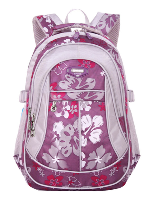 Children School Bags For Teenage Girls Boys Teenagers New Floral Printing Backpack Kids Book Bag Student Satchel mochila
