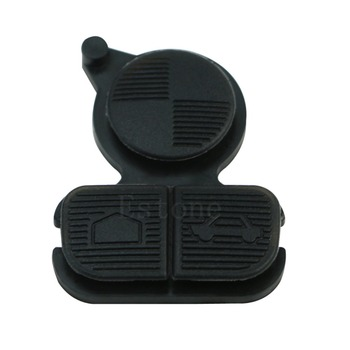 Replacement Remote Key Shell Case Buttons 3 Button Pad Fits For BMW E38 E39 E36 image