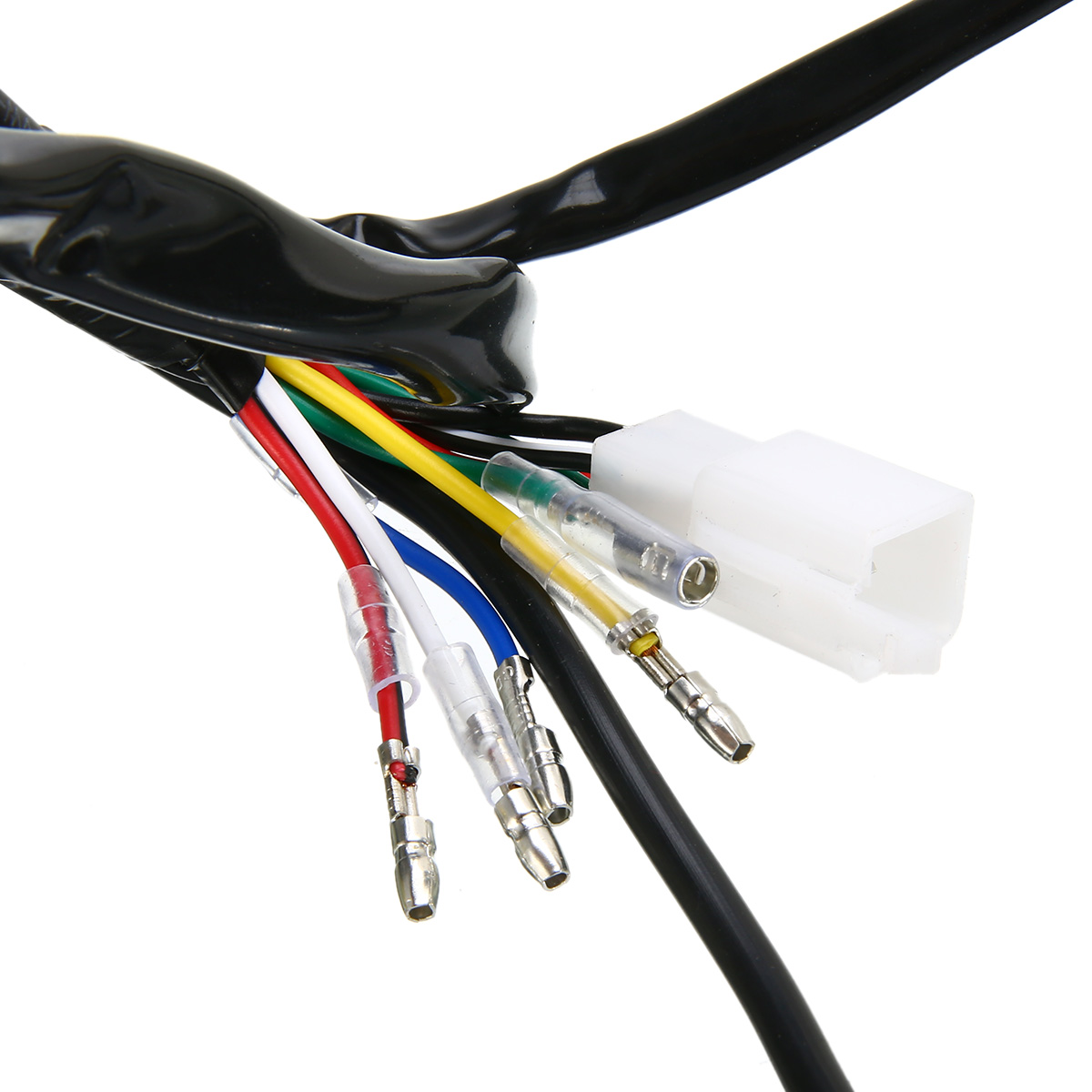 Atv,rv,boat & Other Vehicle Humor Engine Wire Wiring Harness Loom 50cc 110cc 125cc Pit Quad Dirt Bike Atv Buggy