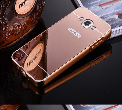 ᗐPara Samsung Galaxy J7 caso de lujo de metal de aluminio Marcos ...