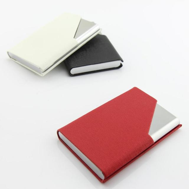 Wholesale stainless steel business card holder men and ladies wholesale stainless steel business card holder men and ladies fashion business card case free shipping colourmoves