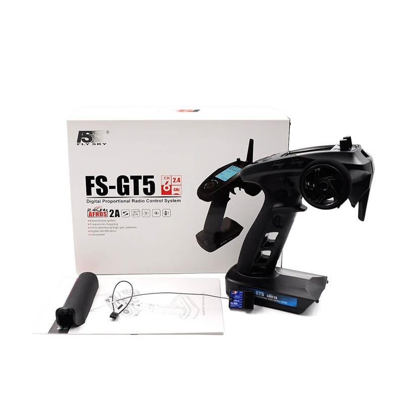 купить New FS-GT5 Remote Controller with Gyroscope Multi-function 6 Channel Gun Controller по цене 6023.22 рублей