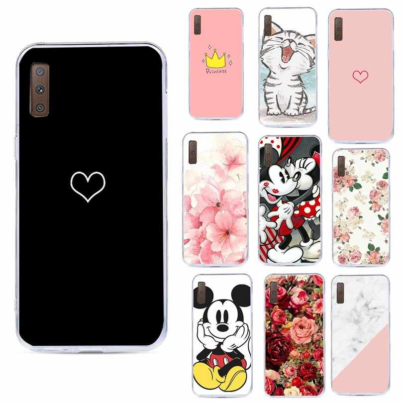 Marble Pattern Case For Samsung Galaxy S8 S7 Edge A3 A5 J5 2017 A7 2018 Soft Back Cases For iPhone 5 5S 6S 7 8 Plus X XS Cover