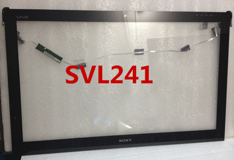 NeoThinking 24 Inch All In One Voor Sony Vaio SVL241 Tablet Touch Screen Digitizer Glas Vervanging gratis verzending-in Laptop LCD Scherm van Computer & Kantoor op title=