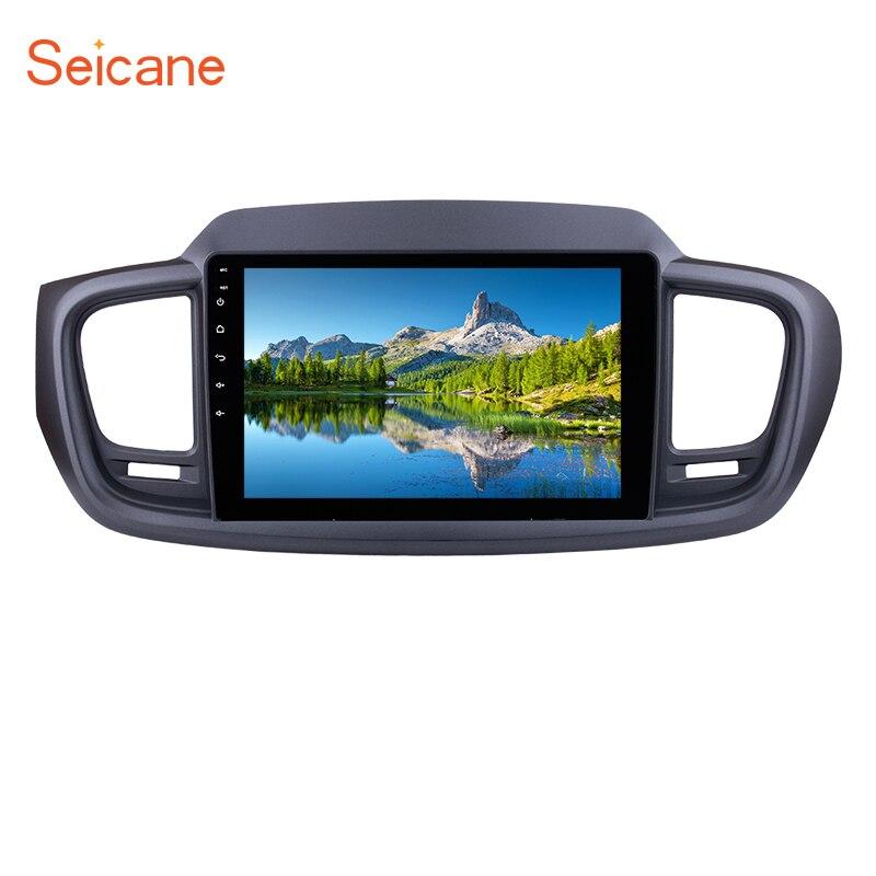 Seicane 10.1 inch Android 7.1/6.0 HD 1024*600 Radio Car Multimedia Player For 2015 KIA SORENTO GPS Navi with 3G WiFi Bluetooth цена