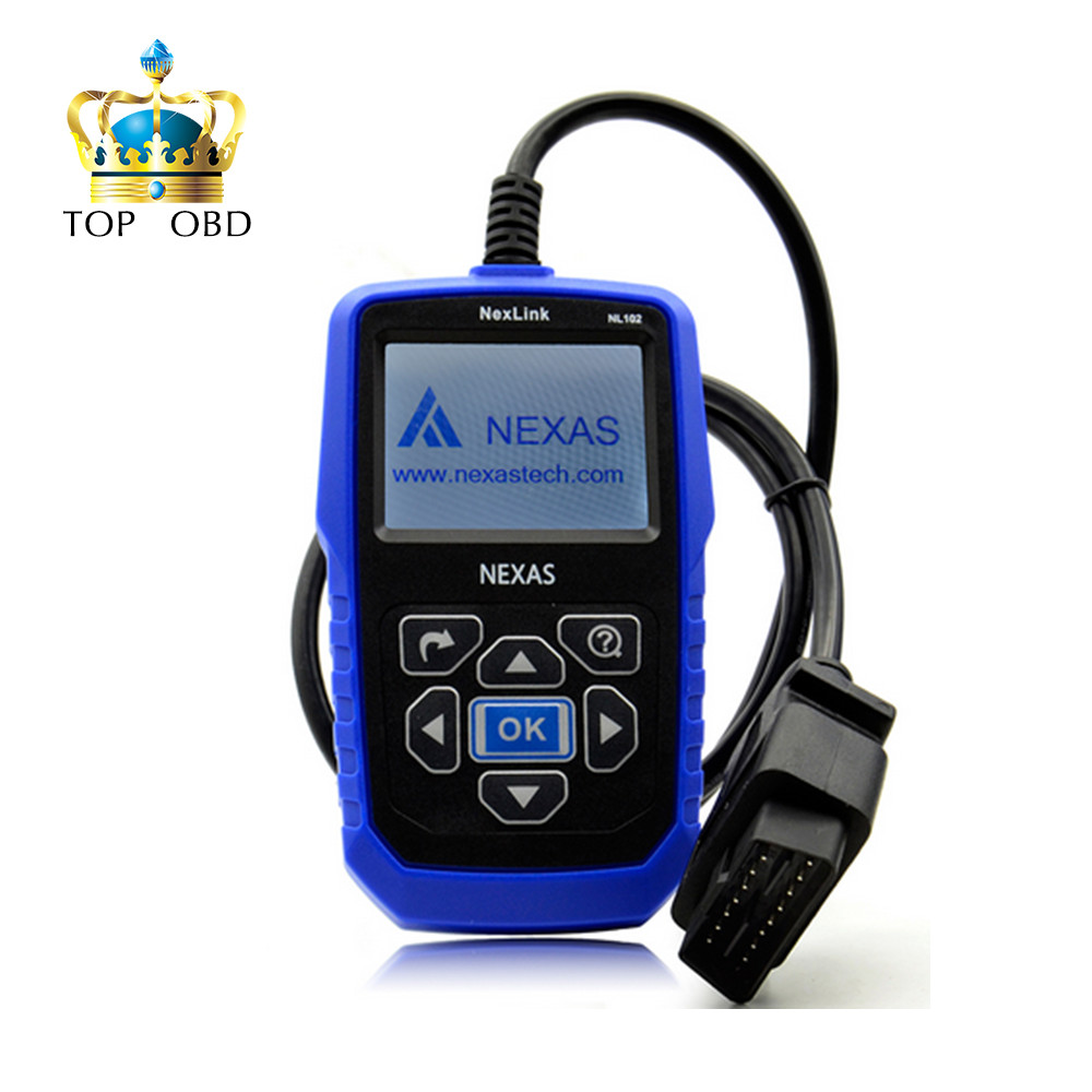 Heavy Duty Truck Diagnostic Scanner NEXAS NL102 OBD OBD2 for Volvo Renault Truck Engine ABS Brake Diagnostic Tool NL102