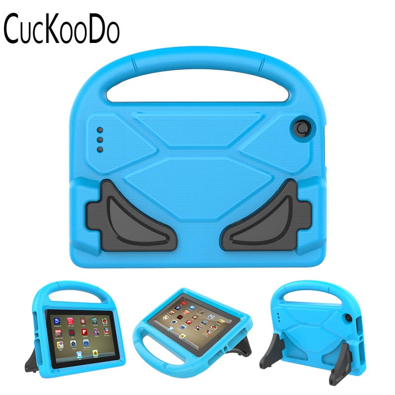 Kids Light Weight Shock Proof Handle Friendly Convertible Stand Kid-Proof Case Cover for Amazon Fire 7 Tablet 2017/2015 Release hot sale fashion kids shock proof case cover for amazon kindle fire hd 7 2015 rugged shockproof case just for you