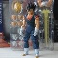 Dragon Ball Z Super Saiyan Vegetto SHF Anime Goku y Vegeta Acción y Del Juguete Figuras Colección Modelo