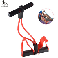 RUNACC Exercise Tension Band Bodybuilding Expander Elastic Pull Rope Training Equipment Exercise Fitness And Strength Training