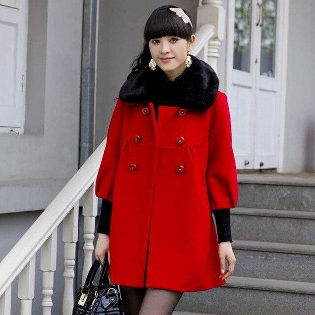 NEW LADY'S HOT SALE WOMEN'S WINTER COAT KOREA FASHION WOOLEN PROMOTION COATS JACKETS OUTWEAR