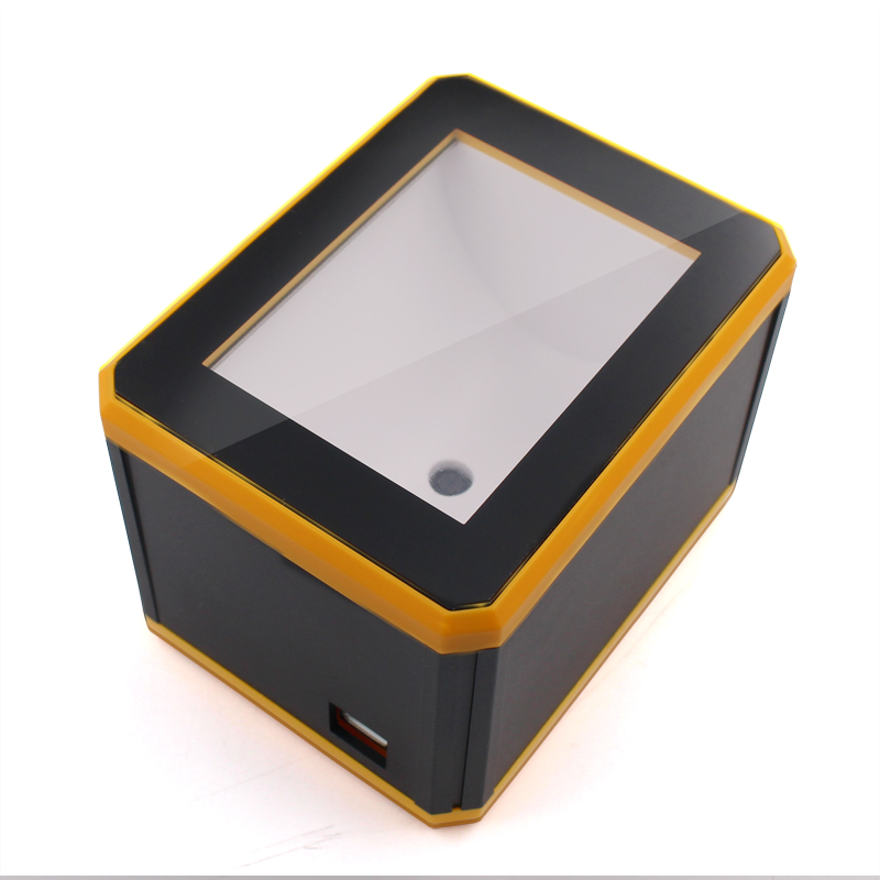 QR Reader Only For Mobile Screen Reading 2D Omnidirectional Scanner Yellow Convenient Interfaces Profiles USB  ScannerQR Reader Only For Mobile Screen Reading 2D Omnidirectional Scanner Yellow Convenient Interfaces Profiles USB  Scanner