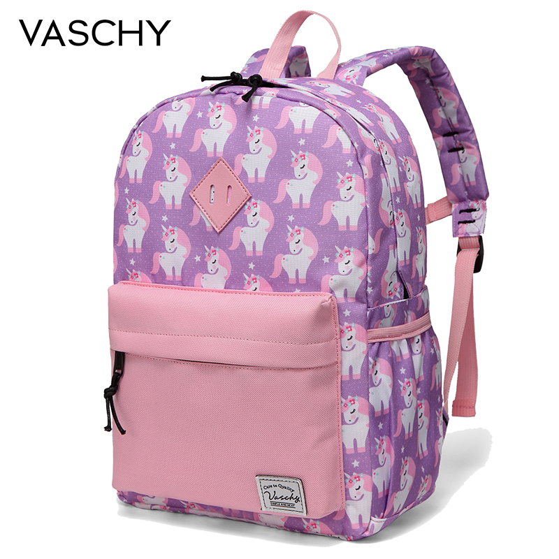 Children Backpack For Preschool,VASCHY Little Kid Backpacks For Boys And Girls With Chest Strap