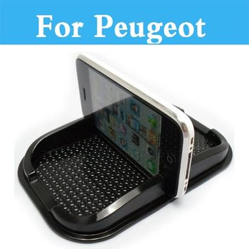 Anti Slip Mat GPS Phone Holder Non-Slip Mat Pad For Peugeot 301 307 308 3008 1007 107 108 2008 206 207 208 208 GTi image