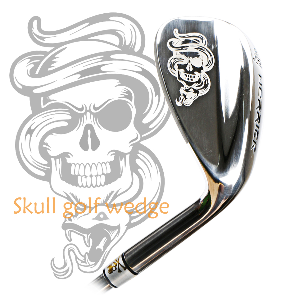 SW Club 52 56 60 Degree Skull Sand Wedge Golf Club Men