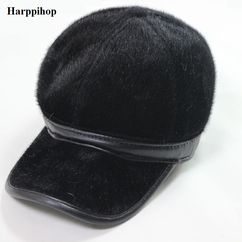 2018 new fashion popular Baseball cap imitation mink cloth hat autumn and winter fashionable casual warm hat faux seal hair hats fashion woman s striped beanies hat 2016 new autumn winter knitted warm wool casual girl cap for woman skullies chapeu feminino