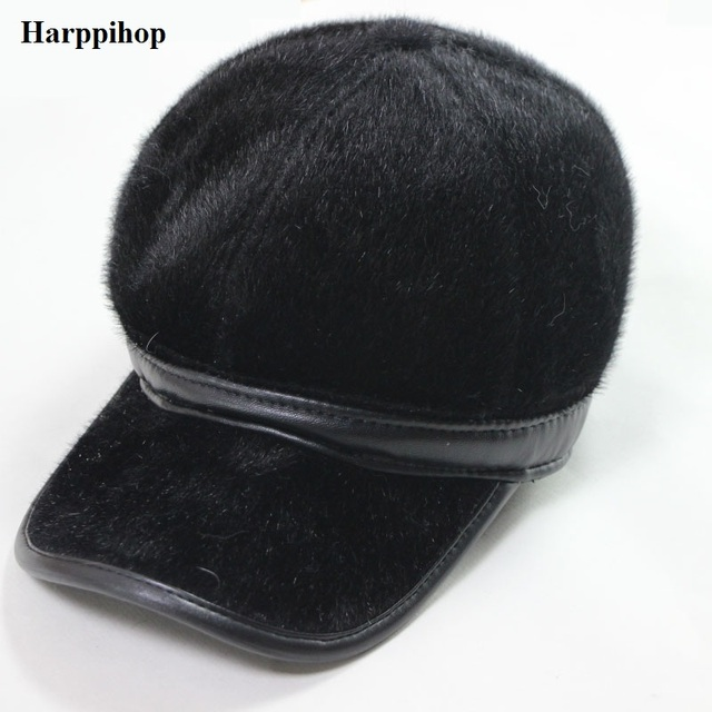 2018 new fashion popular Baseball cap imitation mink cloth hat autumn and  winter fashionable casual warm a2902f82b13