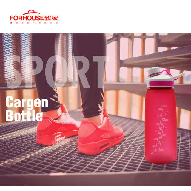 900ml Healthy Silicone Sport Water Bottle Portable Leak Proof Drinking Bottles for Outdoor Travel Cycling Running Drinkware 4
