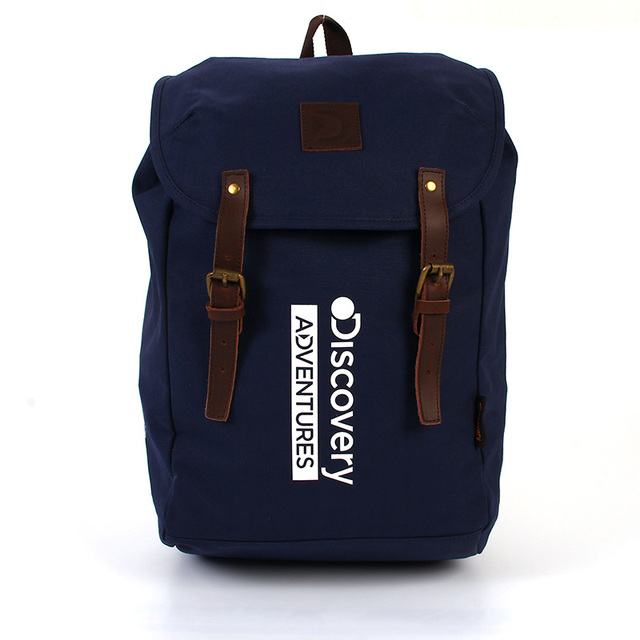 Discovery Adventures Vintage Canvas Backpack