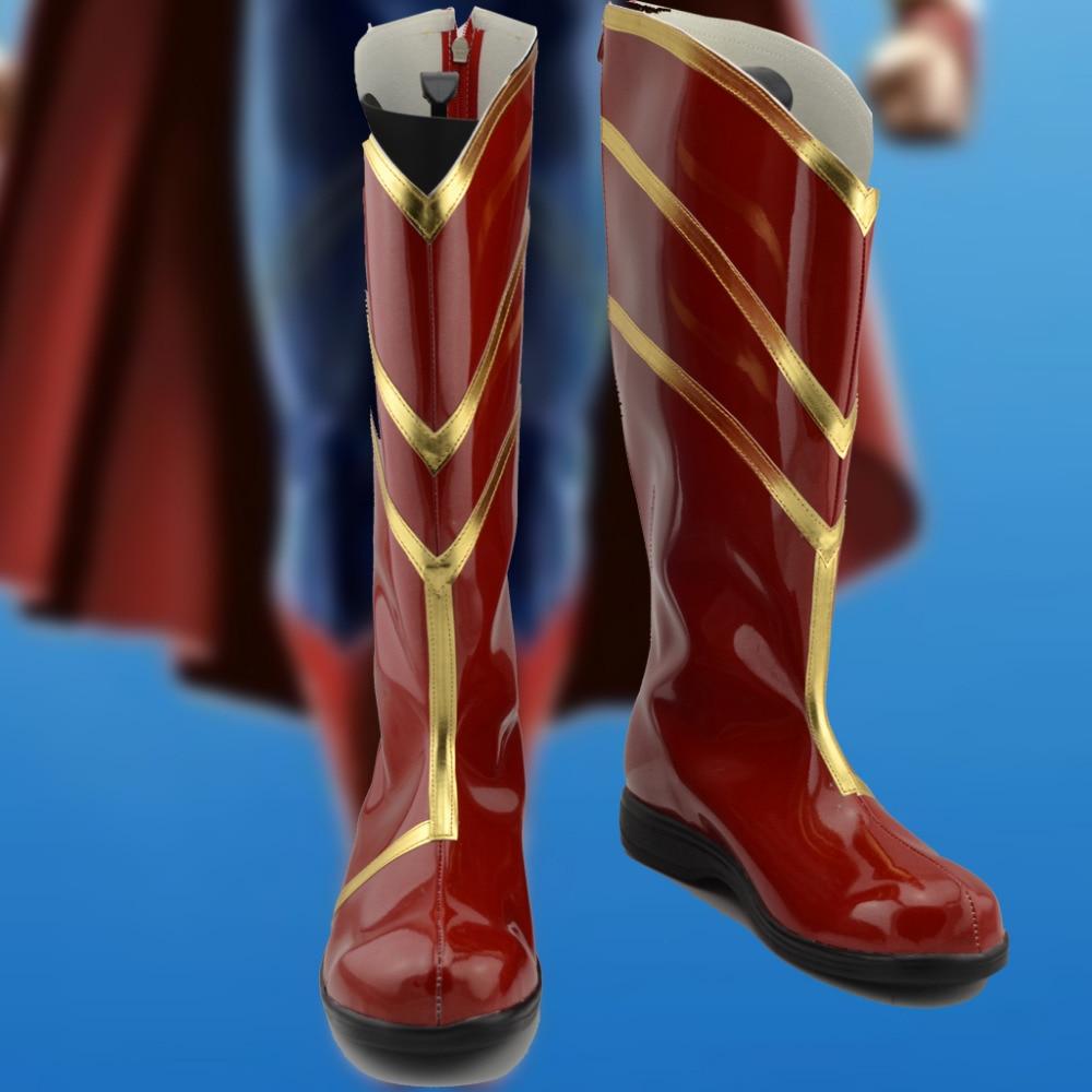 superhero Cosplay Shoes Boots Halloween Carnival Cosplay ...