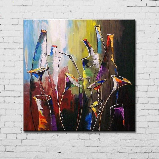 Acryl schilderijen abstract