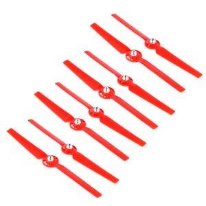 Image 2 - Hélices 8 pces para yuneec typhoon q500 zangão q500m 4 k auto travamento lâmina de liberação rápida cw ccw substituição adereços peças de reposição