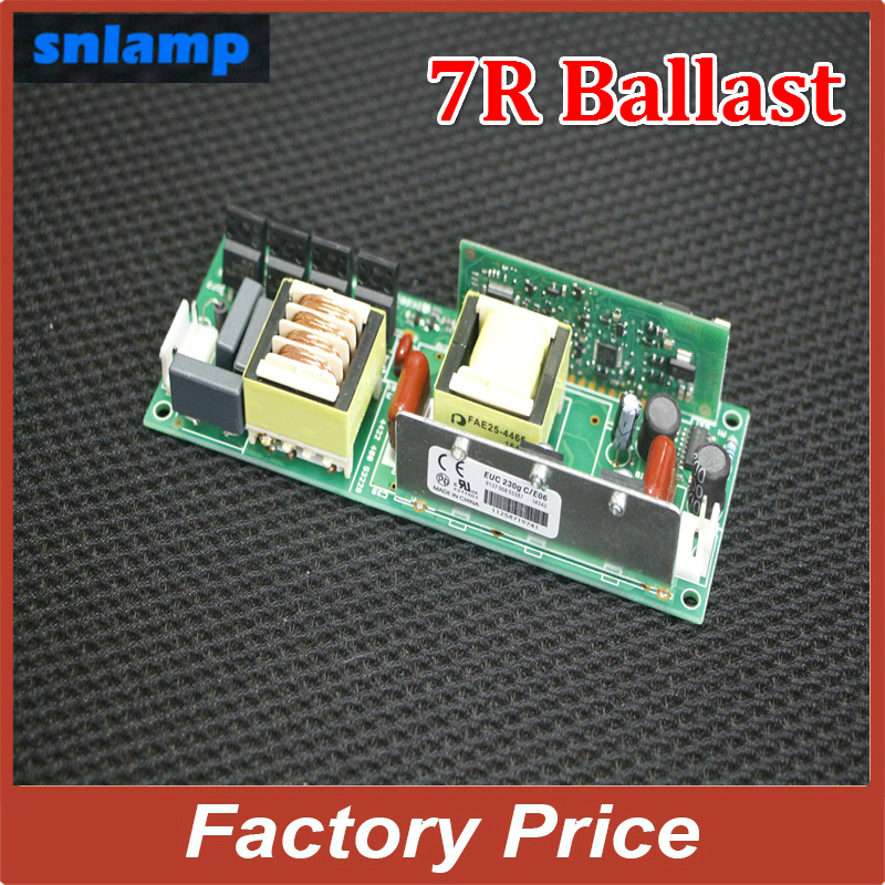 Ballast 1pc/lot 230W Lamp MSD Platinum 7R,Beam 230W Sharpy Moving head beam light bulb stage light Ballast Electronic Ignitor R7