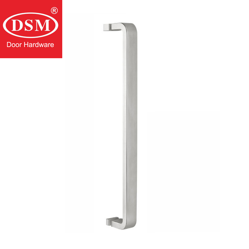 Shower Door Handle PA-648-30*15*465mm Stainless Steel Pull Handles Glass Doorknob For 6mm~12mm Thick Glass bronze glass door handle modern european luxury stainless steel door handle chinese antique wooden door handles