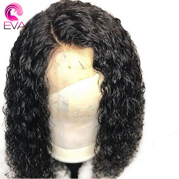 Eva Hair Pre Plucked Full Lace Human Hair Wigs With Baby Hair Glueless Curly Full Lace Wigs For Black Women Brazilian Remy Hair
