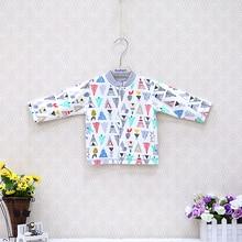 Блузка для маленьких мальчиков и девочек велюровые осенне-зимние рубашки для новорожденных от 0 до 12 месяцев, мягкая ткань одежда с круглым вырезом