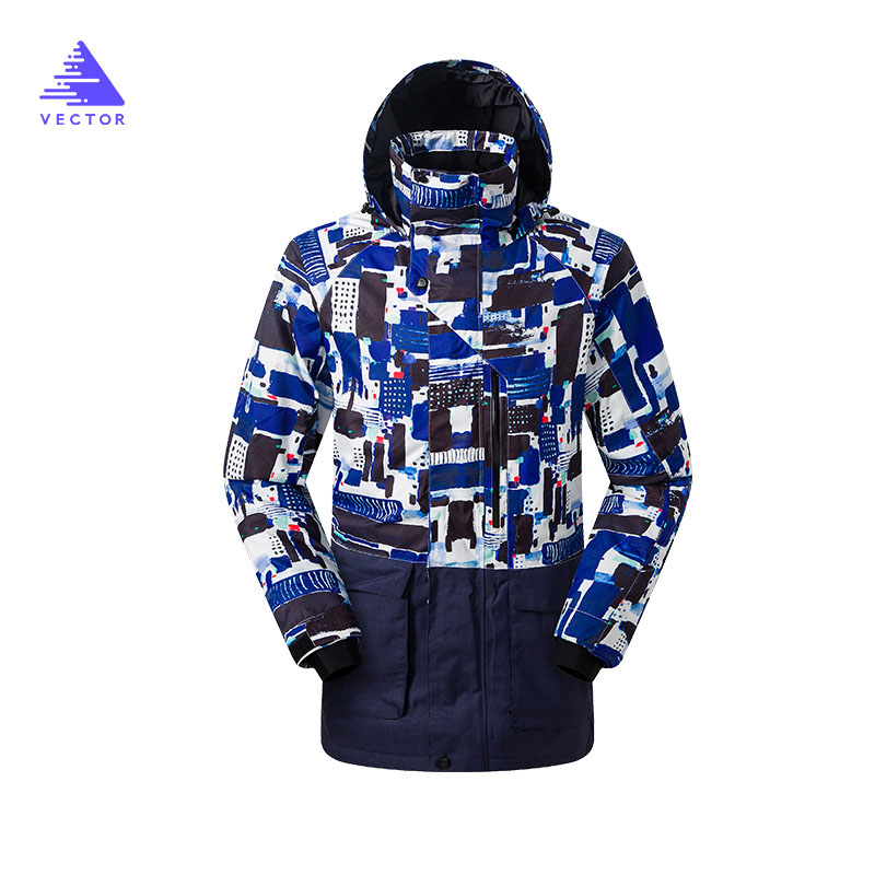 Brand Winter Ski Jackets Men  Outdoor Thermal Waterproof Snowboard Jackets Climbing Snow Skiing Clothes  HXF70002