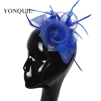High Quality Fasinator Hats Nice Hair Combs Accessories Fashion New Design Hair Fascinator Headpiece Occasion Party Hats FS37 image
