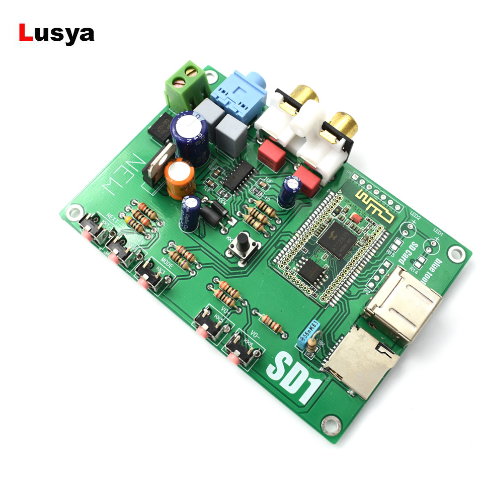 ES9023 DAC Bluetooth Digital Audio Board WAV/APE/FLAC Lossless Decoding I2S Or SPDIF Output 5-12V AC/DC