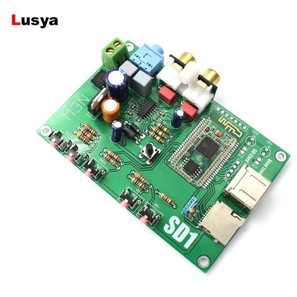 Offizielle Website Es9023 Dac Bluetooth Digitale Audio Board Wav/ape/flac Verlustfreie Decodierung I2s Oder Spdif Ausgang 5-12 V Ac/dc Digital-analog-wandler