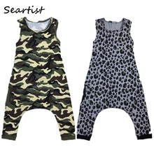 Seartist Baby Boys Girls Rompers Boy Girl Shorts Leopard Camouflage Jumpsuit Bebes Kids Camo Body Suit Boys Baby Boy Clothes 40