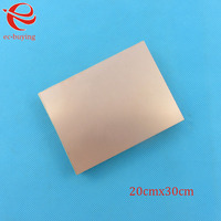 Copper Clad Laminate One Single Side Plate CCL 20x30cm 1 5mm FR 4 Universal Board Practice
