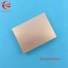 Revestido de cobre Laminado de Un Solo Lado CCL 20×30 cm 1.5mm FR-4 Placa PCB Junta Universal de Práctica DIY Kit de 200*300*1.5mm