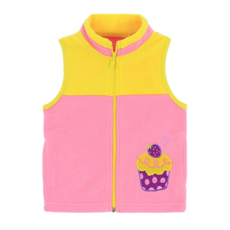JXYSY Kids vest Baby girl clothes winter thicken cotton fashion fleece vest kids waistcoat baby boy vest clothes 2 6 years