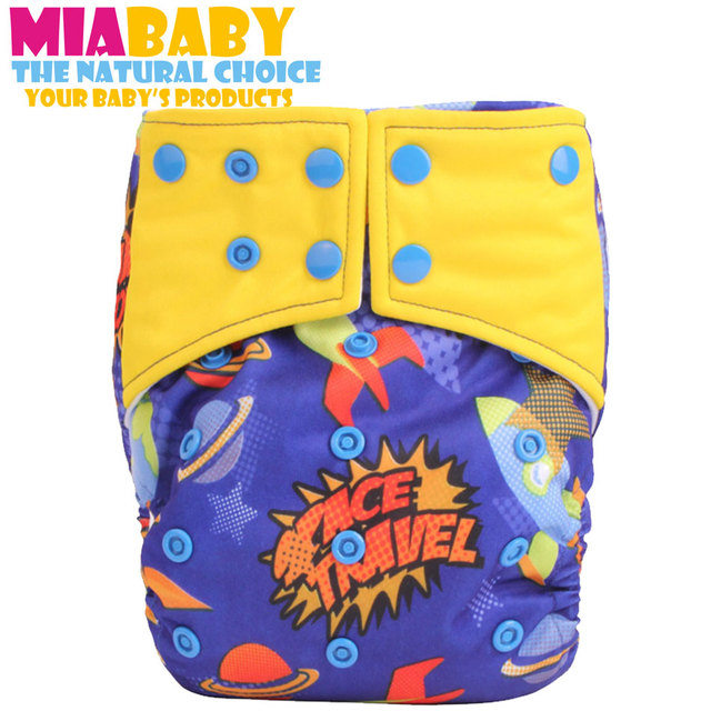 Baby cloth diaper super night AI2 onesize fit all,with 2 hemp inserts,one diaper for whole night, free shipping your best choice
