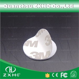 Image 3 - (100pcs) 25mm 13.56 Mhz RFID Cards IC 3M Sticker Coin Cards FM1108 Chip Compatible S50 For Access Control