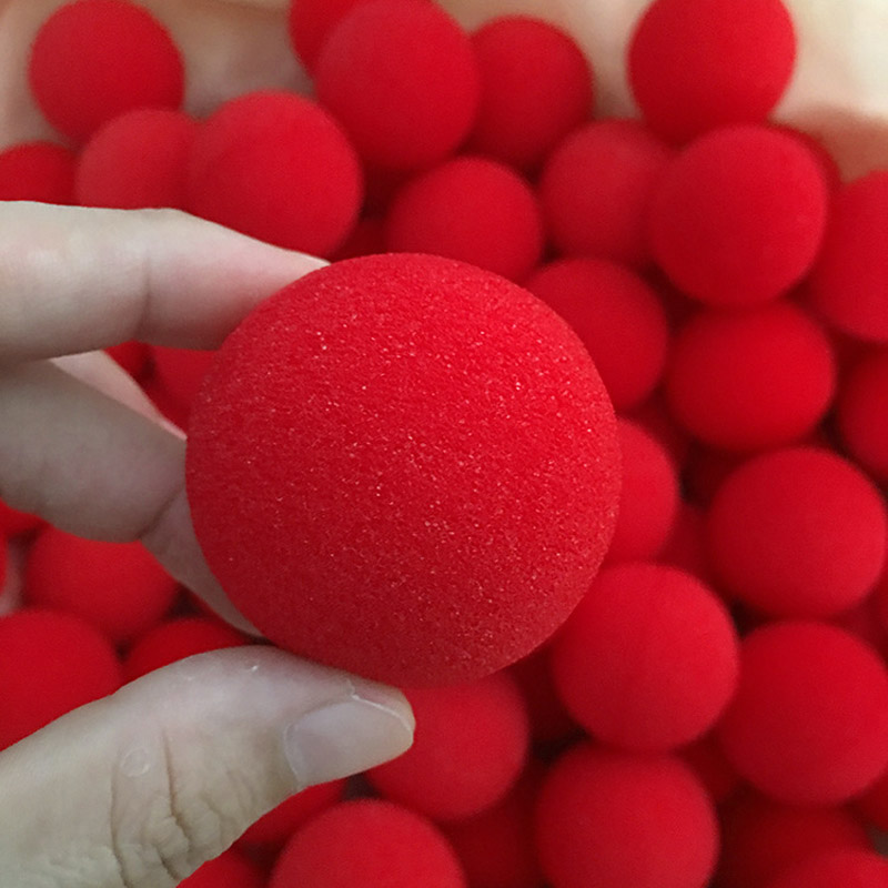 20pcs 4.5cm Soft Sponge Balls Close-Up Magic Sponge Ball Street Classical Comedy Trick for Magicians demigods and magicians