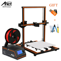 Anet E12 E10 A8 A6 3d Printer Large Printing Size 3d Printer Machine High Precision Update Threaded Rod Reprap i3 3D Printer