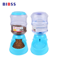3 5L Automatic Pet Feeder Drinking Fountain For Dogs Cats Environmental Dog Food Bowl Pets Water