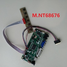 2019 40pin LED DVI audio LCD M.NT68676 VGA HDMI LVDS controller board cable driver for LP133WH2-TLB2 1366*768 display KIT