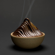 PINNY Hill Ceramic Incense Burners 2 And 4 Coil Base Home Decoration Accessories Zen Sandalwood Censer